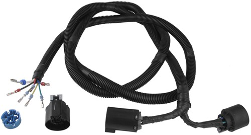 pollak 5th wheel and gooseneck trailer connector wiring harness w t rh etrailer com fifth wheel wiring harness for 2015 ford f250 fifth wheel wiring harness 2001 f350
