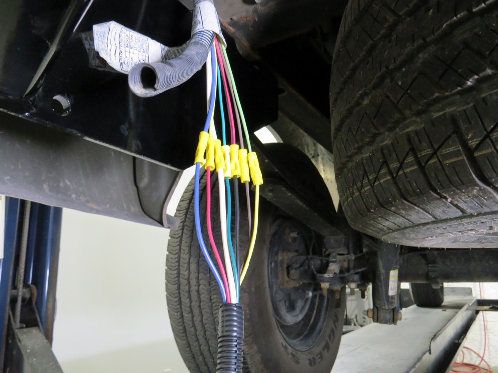 4' pigtail wiring harness for pollak replacement 7-pole rv ... trailer wiring harness for chevy truck