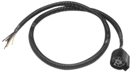 4' pigtail wiring harness for pollak replacement 7-pole rv socket pollak  accessories and parts pk11998