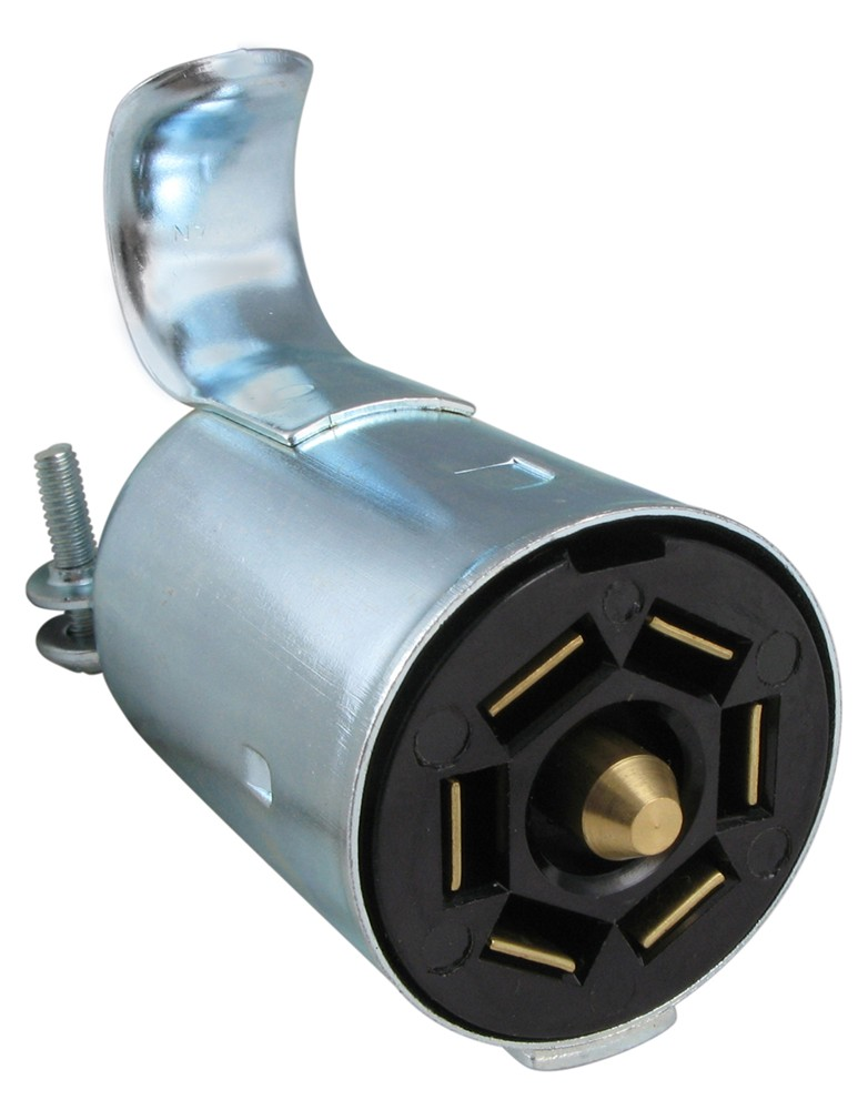 Pollak Metal 7-pole  Rv-style Trailer Connector