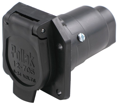 pare pollak replacement vs pollak black plastic etrailer Challenger On RV Battery Wiring Diagram pollak vehicle end connector wiring pk12 707e