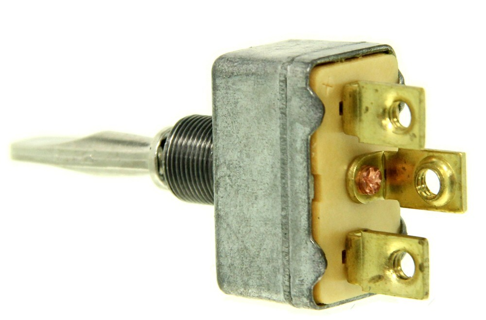 Pollak Heavy Duty Toggle Switch Spdt On Off On 12