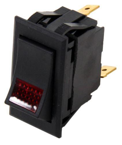 universal design rocker switch spst on off 12 volt 20 amp rh etrailer com