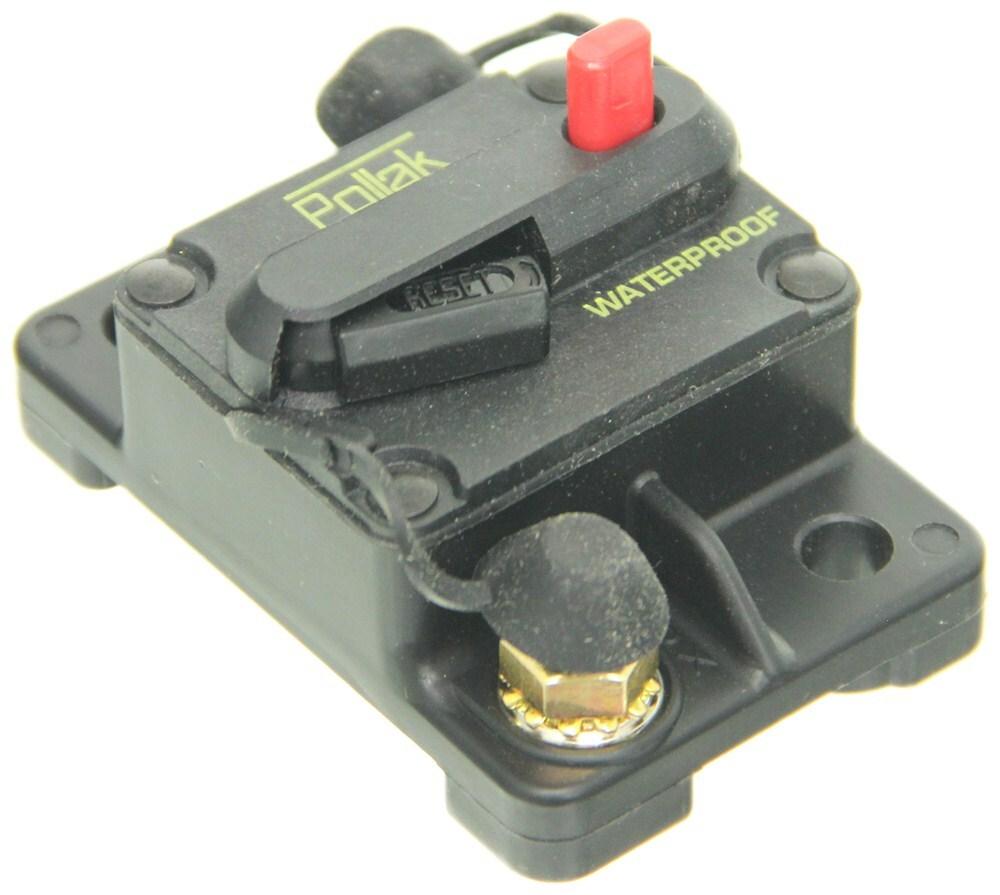 Pollak Circuit Breaker 150 Amp Surface Mount Manual Reset Tekonsha 30 Accessories And Parts 7012a Plastic Type Iii Pk54872pl