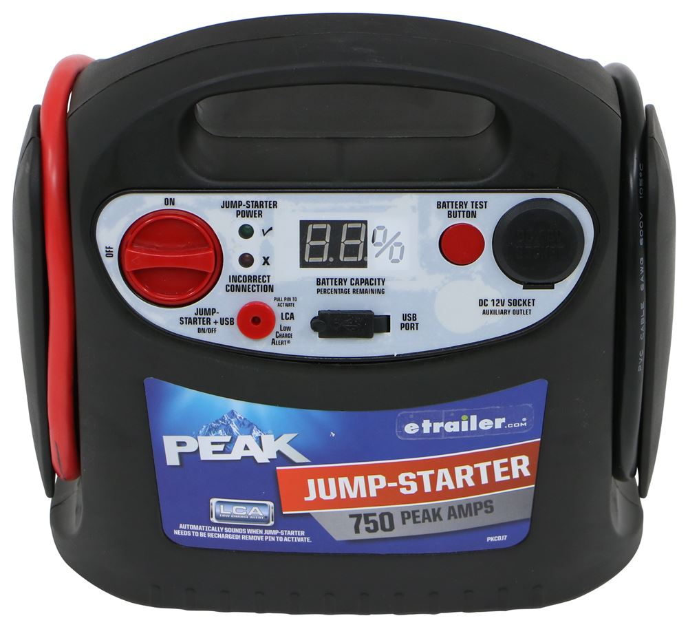 Jumper Cables and Starters PKC0J7 - Device Charger - Peak Performance