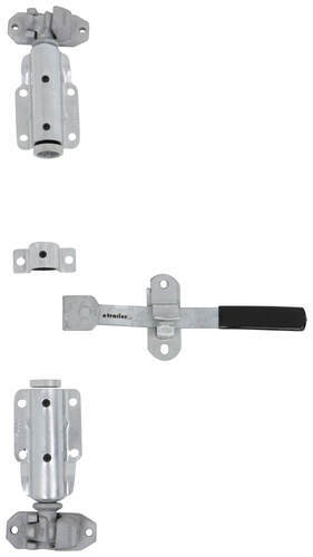 Cam Action Lockable Door Latch Kit For Large Enclosed