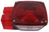 "Peterson Tail Light for Trailers Over 80"" Wide - 7 Function - Square - Driver Side Incandescent Light PM444L"
