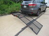 """32x48 Reese Steel Solo Cargo Carrier and Folding Ramp for 2"""" Hitches - 400 lbs Fits 2 Inch Hitch PS10401-10402"""