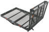 "32x48 Reese Steel Solo Cargo Carrier and Folding Ramp for 2"" Hitches - 400 lbs 48 Inch Long PS10401-10402"
