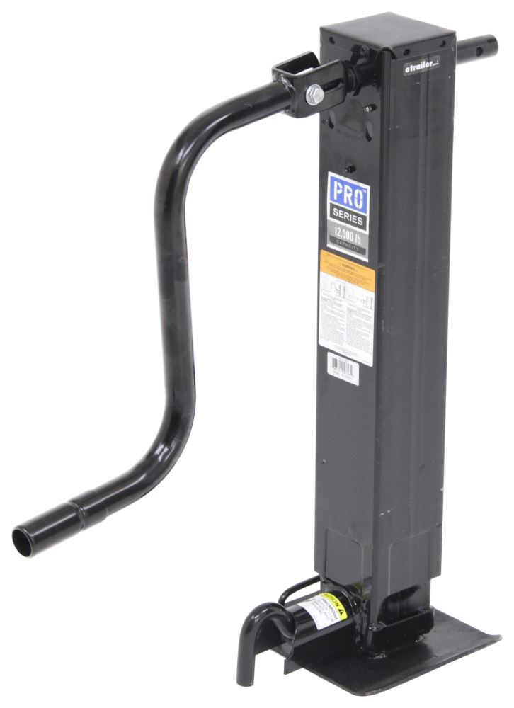 Trailer Jack PS1401010376 - With Foot - Pro Series