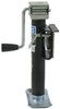 "Pro Series Round, Snap-Ring Swivel Jack - Weld On - Sidewind - 10"" Lift - 2,000 lbs No Drop Leg PS1401020303"