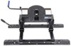 Pro Series 5th Wheel Hitch w/ Square Tube Slider, Rails and Installation Kit - Dual Jaw - 20,000 lbs Hitch and Install Rails PS30133