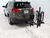 2015 toyota rav4 hitch bike racks pro series platform rack fits 2 inch ps63138