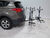 2015 toyota rav4 hitch bike racks pro series platform rack 2 bikes 4 in use