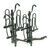 pro series hitch bike racks 2 bikes 4 fits inch ps63138