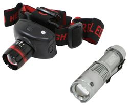 ATAK Pro-Focus Multi-Function Headlamp and Flashlight Set