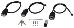 Cable Locks and Hitch Lock for Kuat Transfer 3 Bike Rack