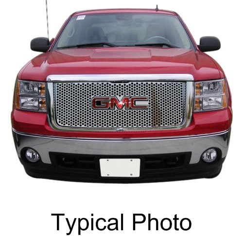 putco gmc sierra stainless steel punch grilles  html