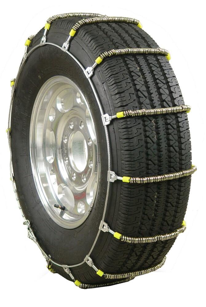 Glacier Cable Snow Tire Chains - 1 Pair Glacier Tire Chains PW2019C