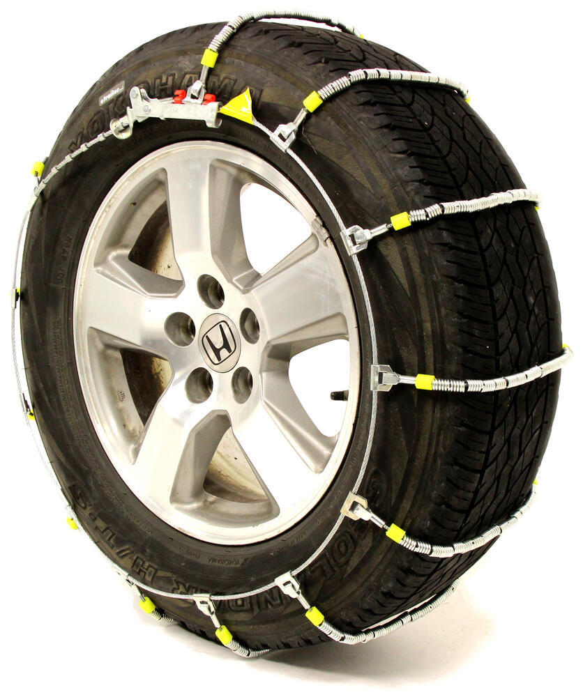 ford escape glacier cable snow tire chains  pair