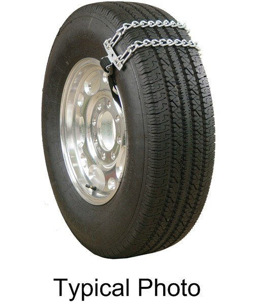Glacier Emergency Twist Link Snow Tire Chains For Light Trucks Web