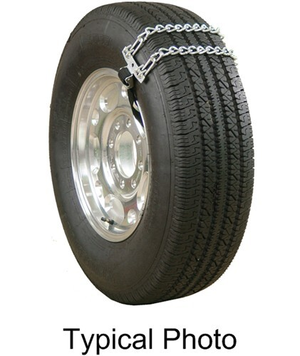 Glacier Emergency Twist Link Snow Tire Chains For Light Trucks Web