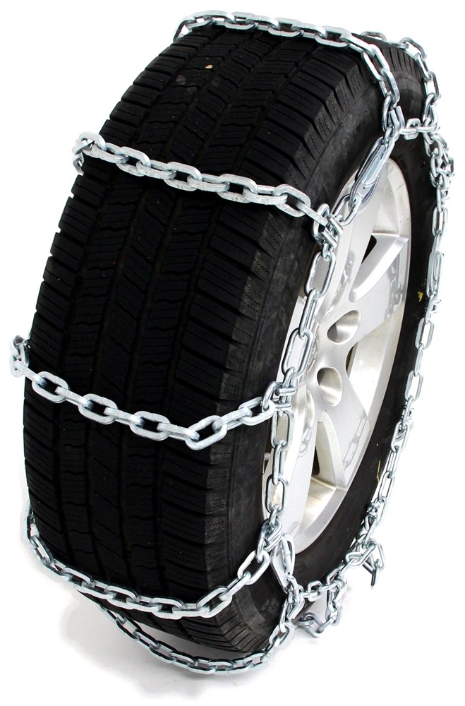 Pewag All Square Snow Tire Chains with Cam Tighteners for Wide-Base Tires - 1 Pair Not Class S Compatible PWE3231SC