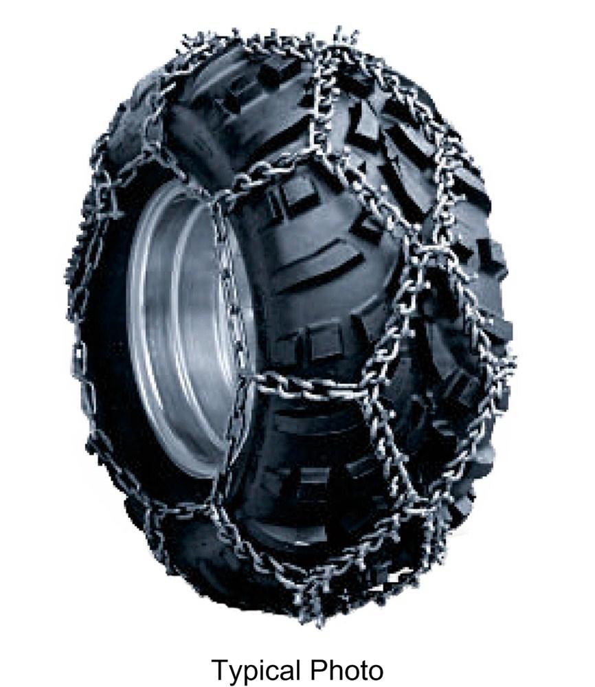 glacier studded alloy atv snow tire chains diamond pattern twist link 1 pair glacier tire. Black Bedroom Furniture Sets. Home Design Ideas
