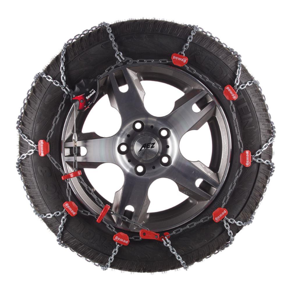 Pewag Servo RS Self-Tensioning Snow Tire Chains - 1 Pair Pewag Tire