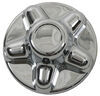 Overhead view of Quick Trim Trailer Hub Cover