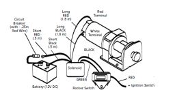 how to wire superwinch atv winch on 2000 yamaha wolverine ... atv winches wiring diagram