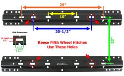 Curt Fifth Wheel Hitch >> Will The Curt Fifth Wheel Rail Kit Work With A Pro Series