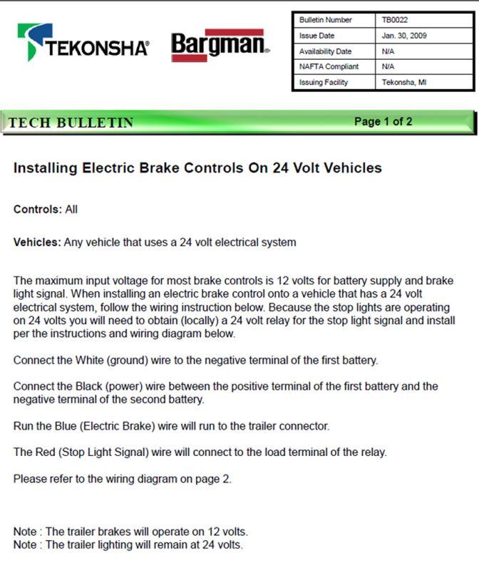 tekonsha p3 wiring instructions