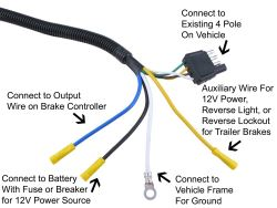 qu105145_250 suitable 7 way wiring harness for 2015 nissan frontier pro4x nissan frontier 7 pin trailer wiring harness at creativeand.co