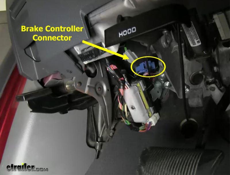 Tekonsha Brake Controller >> Wiring Adapter to Install Voyager Brake Controller in 2009 Dodge Ram   etrailer.com