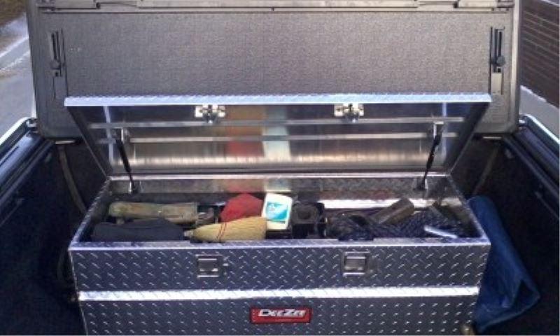 2014 Chevy Silverado Tool Box To Fit Under Tonneau Cover
