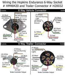qu109417_250 how to rewire trailer for 6 way connection with separate turn hopkins 6 way wiring diagram at eliteediting.co