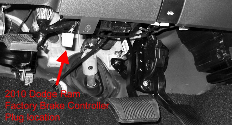 What tekonsha brake controller harness is needed for a