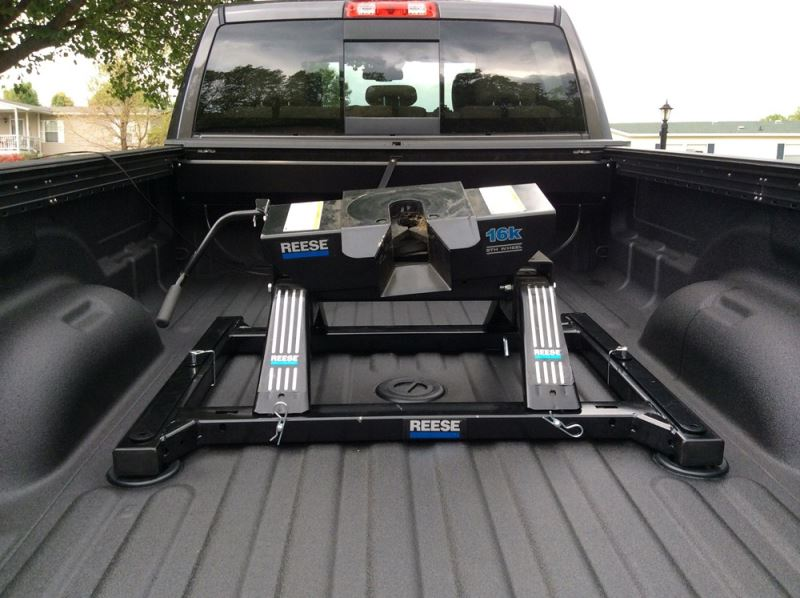 Recommended 5th Wheel Rail Adapter For 2015 Ram 2500 With