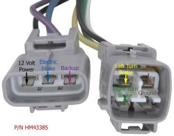 factory trailer wiring harness for a 2003 toyota sequoia has power click to enlarge