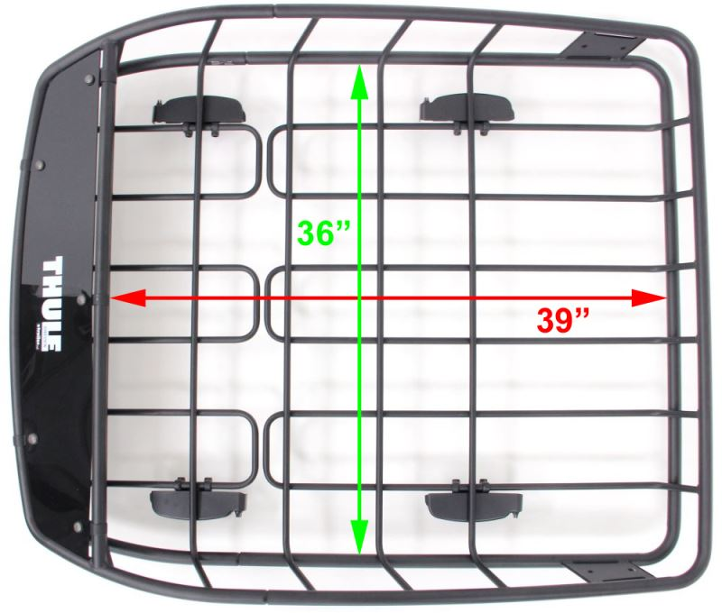 What Are The Useable Interior Dimensions For The Thule