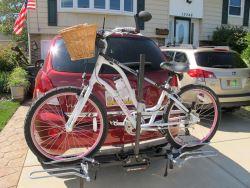 Platform Bike Rack Recommendation For Step Through Bike