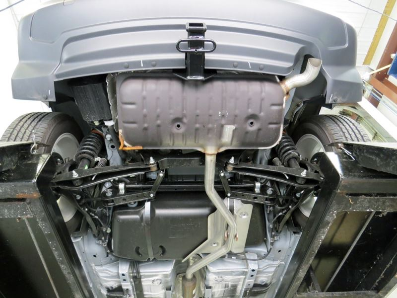 Install Pictures and Video for Hitch Install on a 2014 ...
