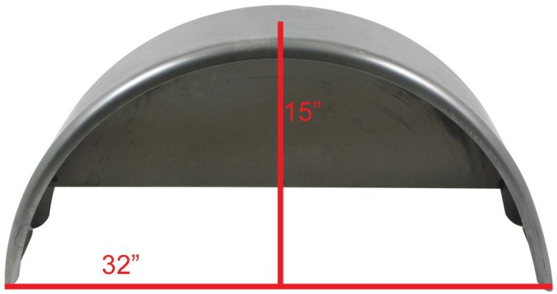 Cargo Trailer Fenders : Fender recommendation for a us cargo utility trailer