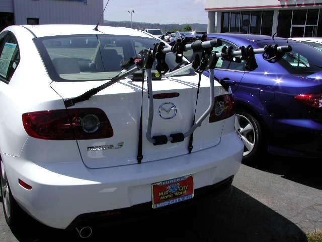 Mazda 3 Bike Rack