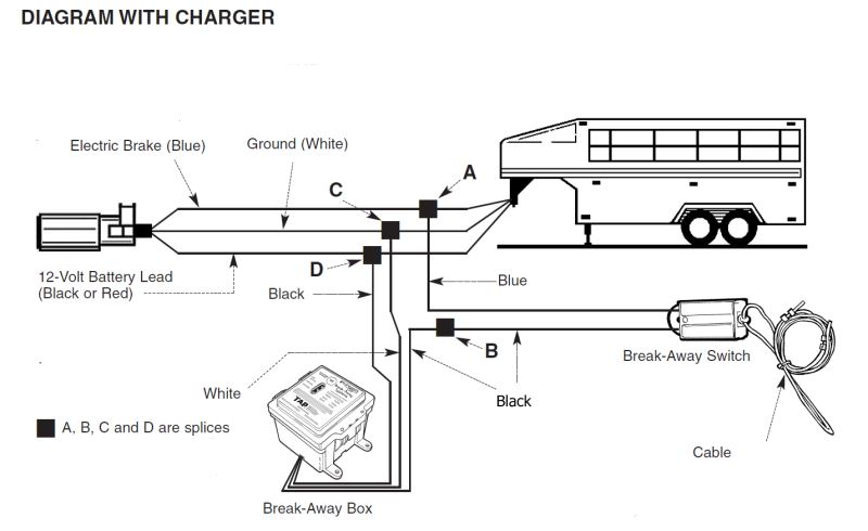 Wiring Diagram For Trailer Breakaway Switch : Hopkins breakaway wiring diagram