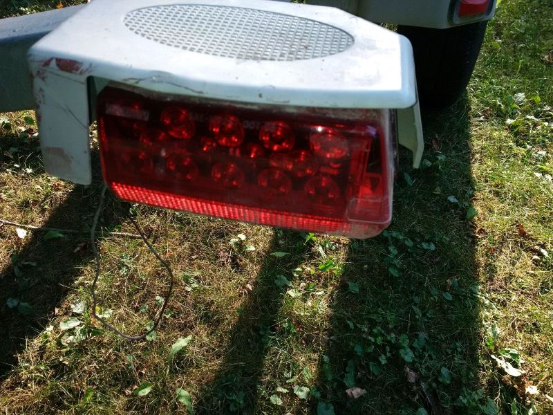 replacement wesbar led tail lights for an ez loader boat. Black Bedroom Furniture Sets. Home Design Ideas