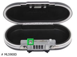 Combination Reset for Master Lock Safe Space Portable Storage Box