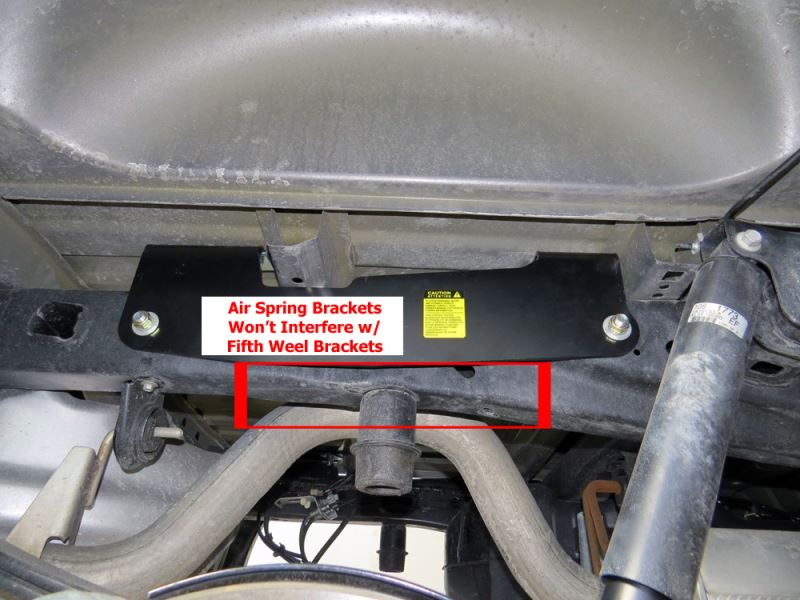 Fifth Wheel Air Ride Suspension : Air bag helper spring suspension for ford f with