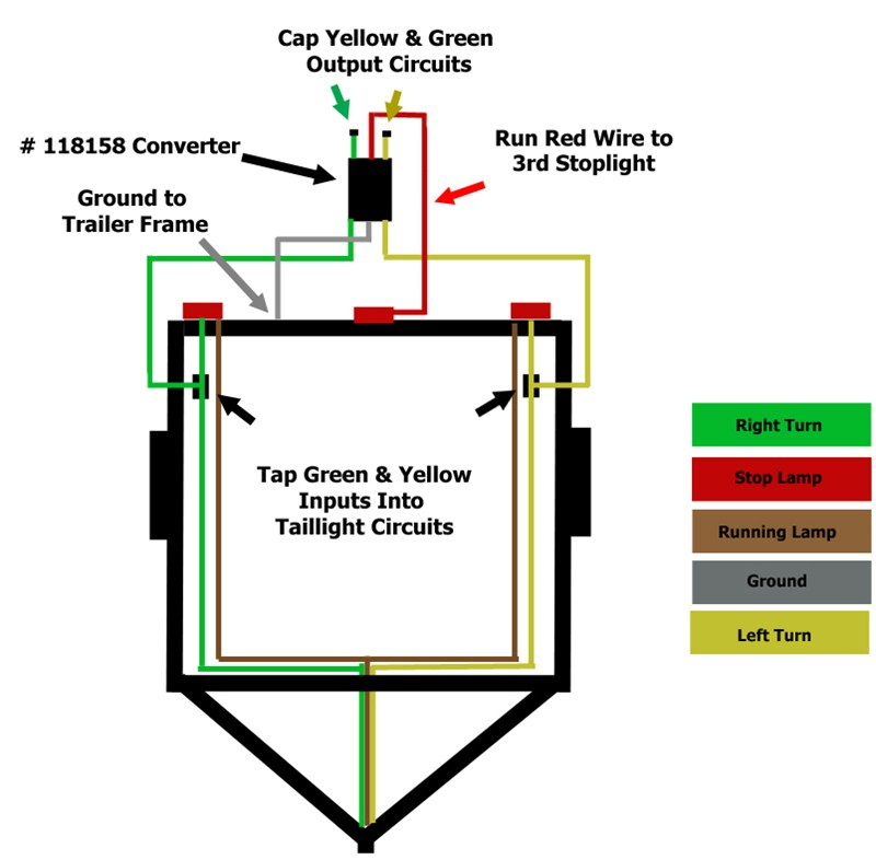 trailer lighting wiring diagram